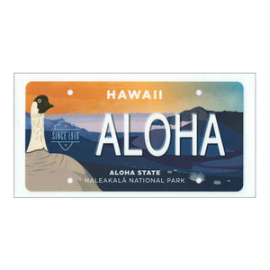 Haleakalā National Park License Plate- Sticker