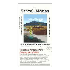 Sticker: Haleakalā National Park Travel Stamp