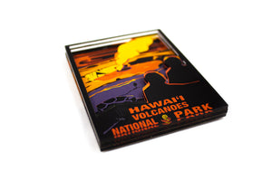 Magnet: Vintage Style Hawaiʻi Volcanoes National Park