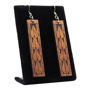 Koa Earrings: Maka Ihe
