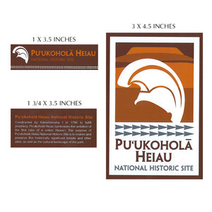 Sticker: Puʻukoholā Heiau National Historic Site