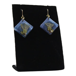 Earrings: Resin Pāʻū O Hiʻiaka