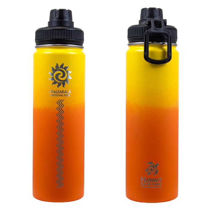 Insulated Water Bottle: Haleakalā National Park Sun