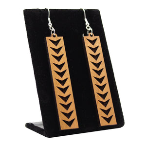 Kapala Earrings: Haleakalā National Park, Kīpahulu District