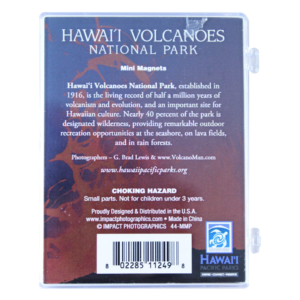 Mini Magnets - Hawaiʻi Volcanoes National Park Lava