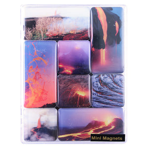 Mini Magnets: Hawaiʻi Volcanoes National Park- Lava Images