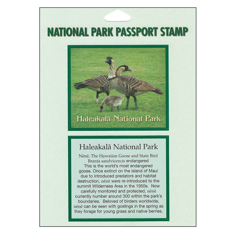 Haleakalā National Park (Nēnē) Passport Sticker