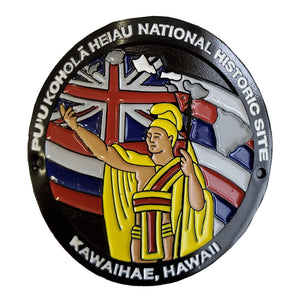 Hiking Medallion: Puʻukoholā Heiau National Historic Site