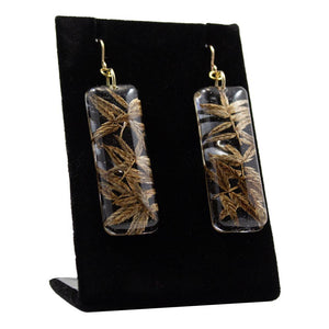 Earrings: Resin ʻAhuʻawa