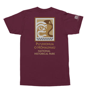 Puʻuhonua Hōnaunau National Historic Park Logo Shirt