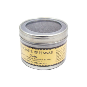Uahi Black Hawaiian Sea Salt Blend