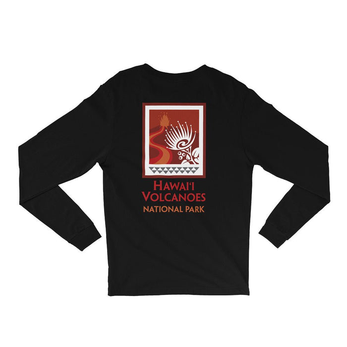 Hawaiʻi Volcanoes National Park Logo Long Sleeve Shirt