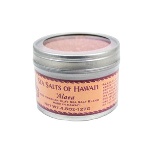 ʻAlaea Rich Red Hawaiian Clay Sea Salt Blend