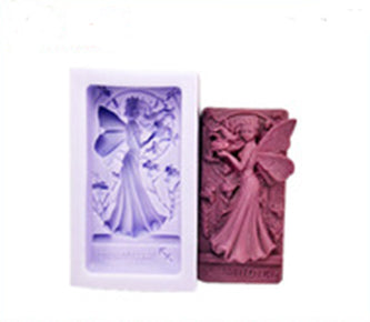 Beautiful Fairy Girl Specialty Silicon Soap & Candle Mold