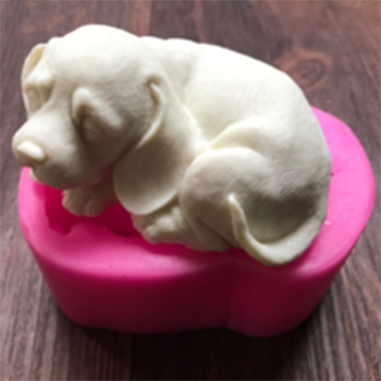 Sleeping Dog Specialty Silicon Soap & Candle Mold