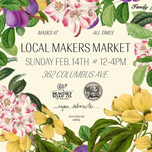 Local Makers' Market for Valentine's Day!