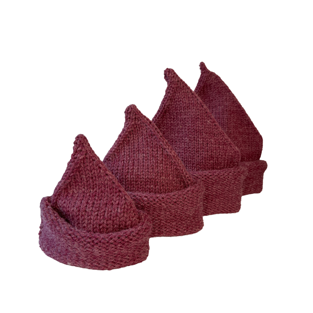 hand knit baby sweaters & accessories