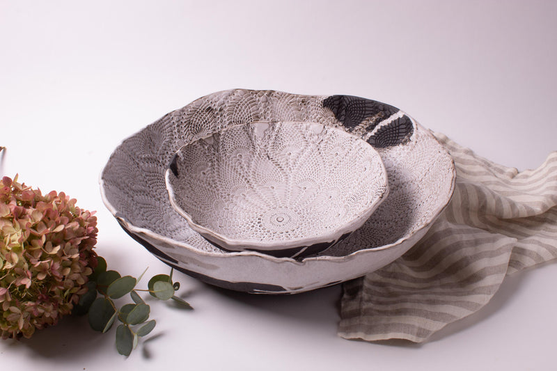 Boheme Lace Large Bowl