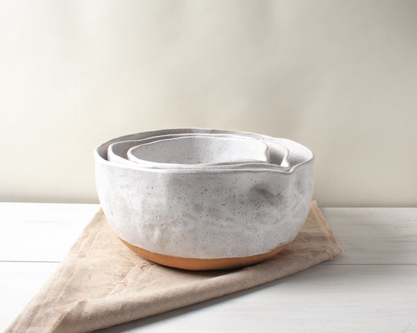 Set of Three Mixing Bowls