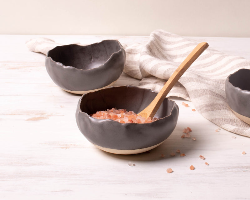 Charcoal Matte Large Spice Dish