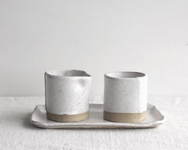 Speckled Sugar & Creamer Set