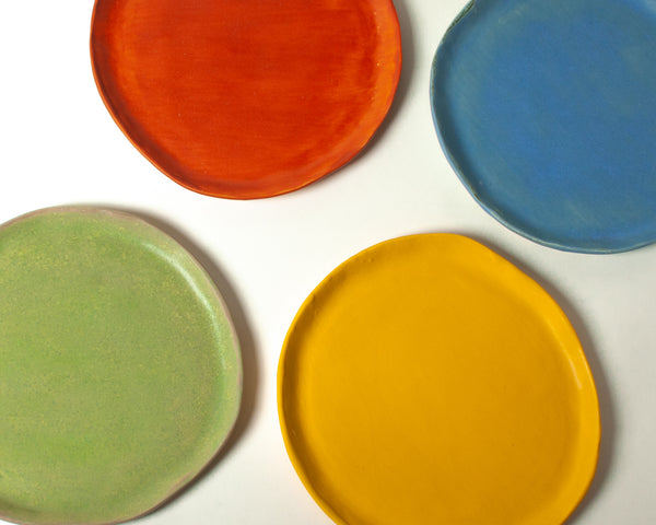 Vintage Salad Plate Mixed Set of 4