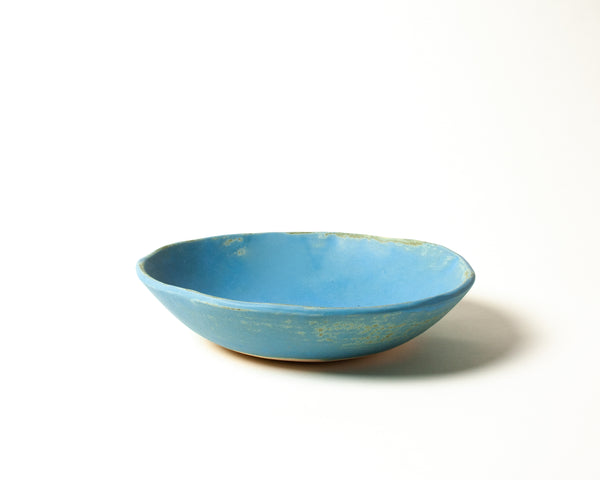 Vintage Inspired Soup Bowl in Dusk Blue Handmade Organic Stoneware Ceramic Pottery Dinnerware for Soup Salad or Cereal