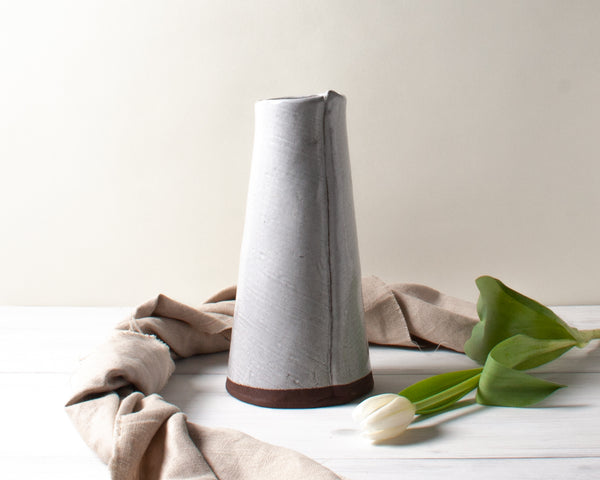 Linen Tapered Vase