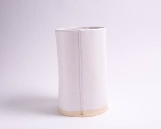 Large White Matte Utensil Holder