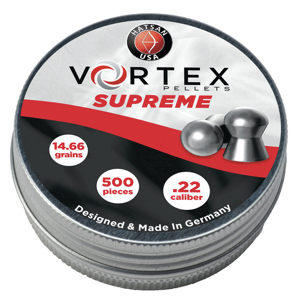 Vortex .22 Caliber Supreme Pellets