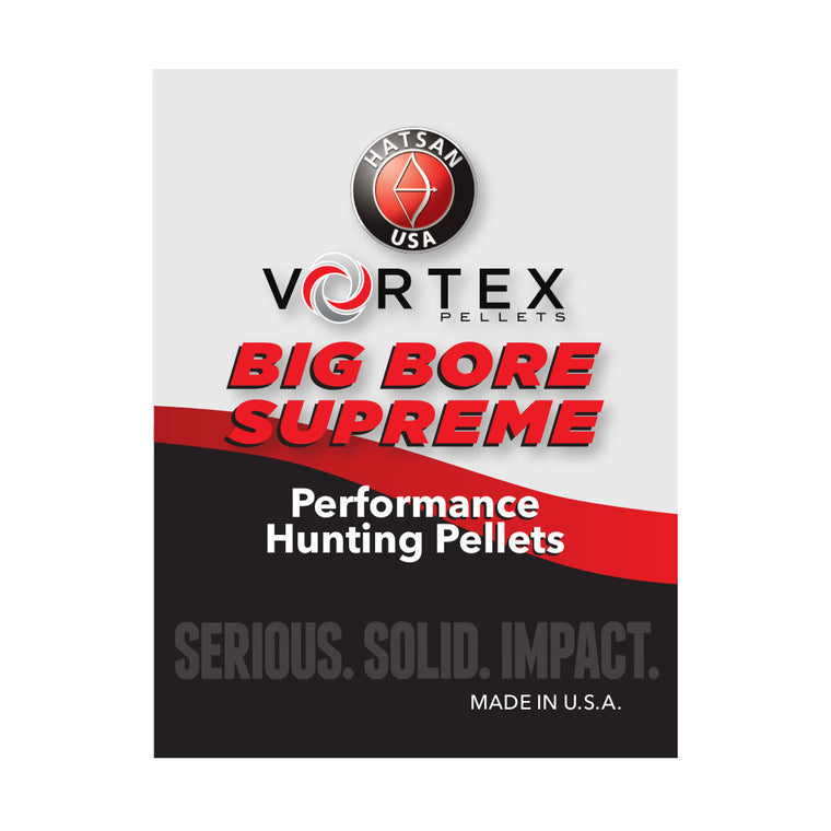 Vortex .45 Caliber Big Bore Supreme Pellets