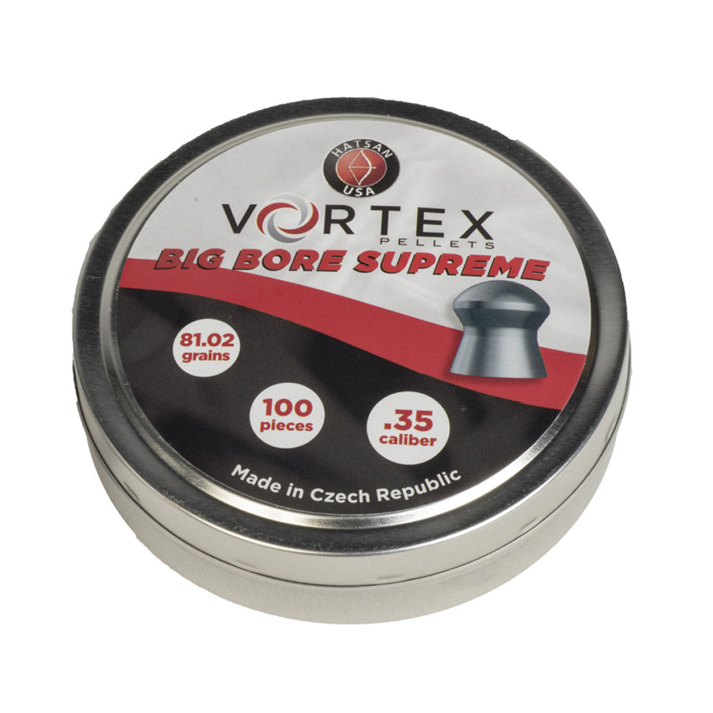 Vortex .35 Caliber Big Bore Supreme Pellets