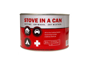 Stove In A Can - Emergency Survival Stove With 4 Fuel Disks 3