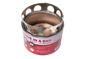 Stove In A Can - Emergency Survival Stove With 4 Fuel Disks 2