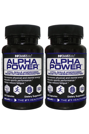 Alpha Power: 2 Pack
