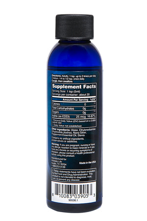 Superblue Silver Immune Gargle 3.4oz Bottle 2-Pack