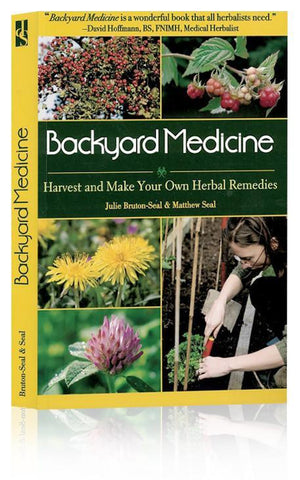 Front view of cover of Backyard Medicine