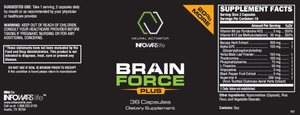Brain Force Plus: 10 Pack
