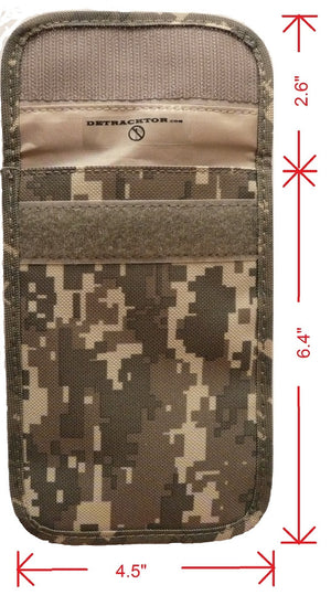 Detracktor Cell Phone Pouch - Camo