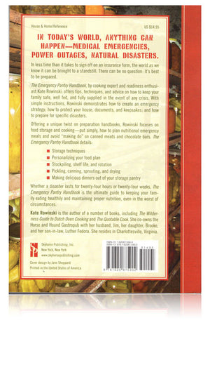 The Emergency Pantry Handbook Back
