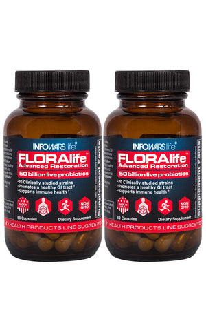 FLORAlife Advanced Restoration Probiotics 2-Pack