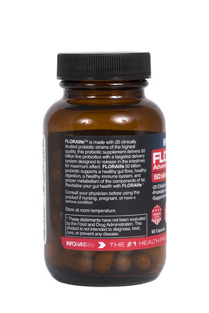 FLORAlife Advanced Restoration Probiotics 50 Billion