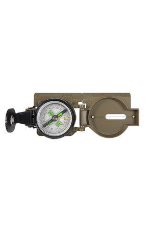 Humvee Military Compass Open Top View
