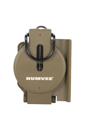 Humvee Military Compass Closed Front