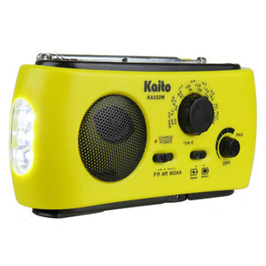 KA332W Weather Radio - Yellow