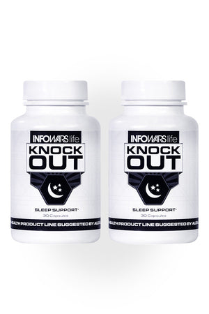 Bottle of Knockout Sleep Supplement for 2-Pack