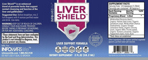 Liver Shield: 5 Pack Label