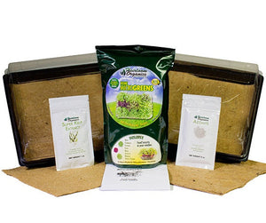 Heirloom Organics MicroGreens Kit
