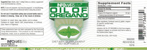 Oil Of Oregano: Two Pack Label