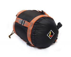 Ledge Sports Scorpion +45° Mummy Sleeping Bag Rolled Up
